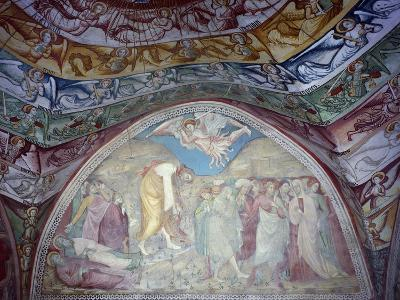 15th Century Frescoes in Chapel of Angels in Monastery of St Scholastica, Italy--Giclee Print