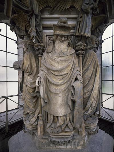 15th Century Sculptures, Detail from Interior of Calvary of Certosa, France-Clement Mere-Giclee Print