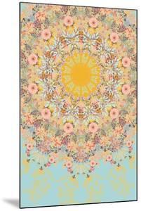 Sunshine Floral Mandala by 16.0