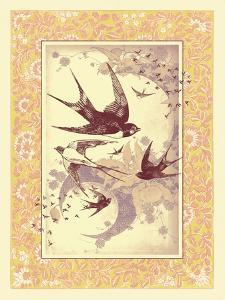 Vintage Swallows by 16.0