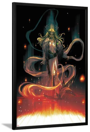 1602 Witch Hunter Angela #1 Featuring Enchantress-Marguerite Sauvage-Lamina Framed Poster