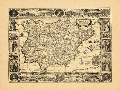1617, Portugal, Spain--Giclee Print