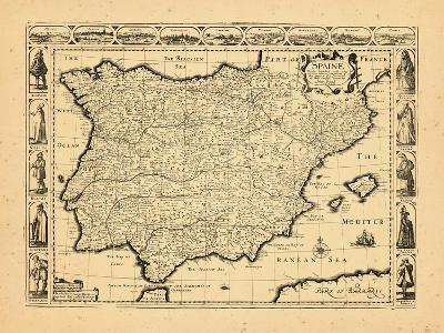 1626, Portugal, Spain--Giclee Print