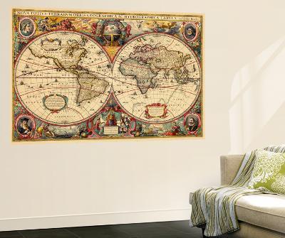 1633, World--Wall Mural