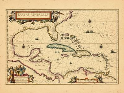 1635, West Indies, Central America