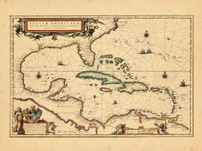 1635, West Indies, Central America--Giclee Print