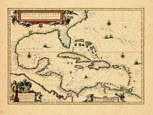 1640, West Indies, Florida, Central America