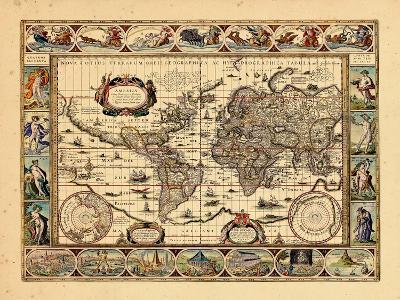 1640, World--Giclee Print