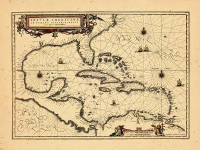 1652, West Indies--Giclee Print
