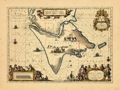 1658, Argentina, Chile--Giclee Print