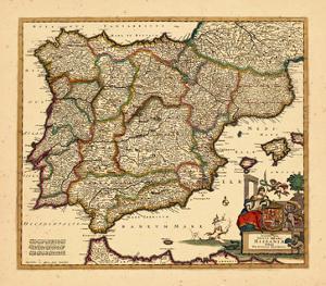 1680, Portugal, Spain