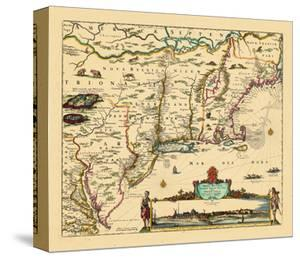 Beautiful Maps of Rhode Island canvas artwork for sale, Posters and ...