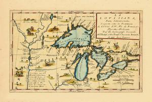 1696, Illinois, Indiana, Michigan, Minnesota, New York, Ohio, Ontario, Pennsylvania, Wisconsin