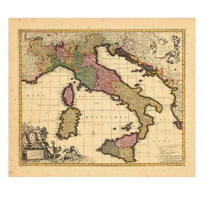 1698, Italy--Giclee Print