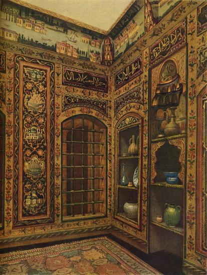 16th-17th Century Old Panelled Room from Damascus, 1913-Unknown-Giclee Print