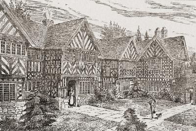 16th Century Kenyon Peel Hall, Near Tyldesley, Manchester, England--Giclee Print