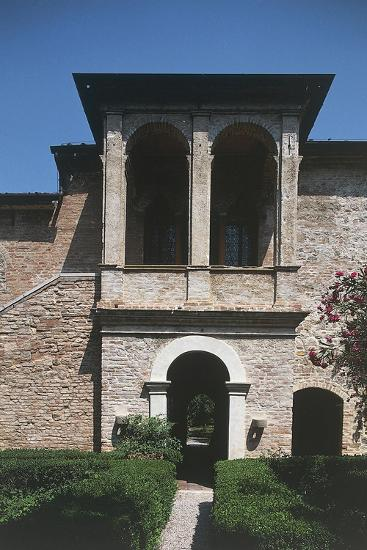 16th Century Loggia, House of Francesco Petrarca, Arqua Petrarca, Veneto, Italy--Giclee Print
