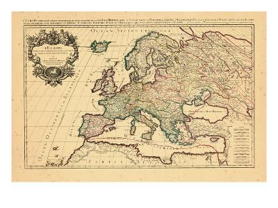1706, Europe, Italy--Giclee Print