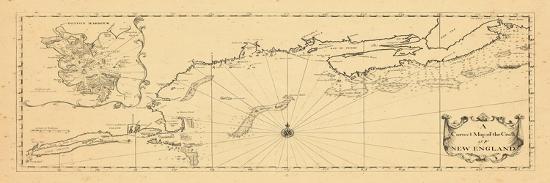 1731 New England Maine Massachusetts New Brunswick Newfoundland