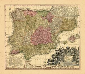 1740, Portugal, Spain