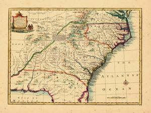 1747, Florida, Georgia, North Carolina, South Carolina
