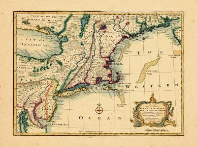 1747, New Jersey, United States--Giclee Print