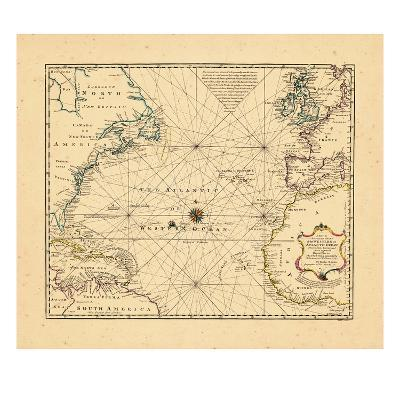 1748, Atlantic Ocean--Giclee Print