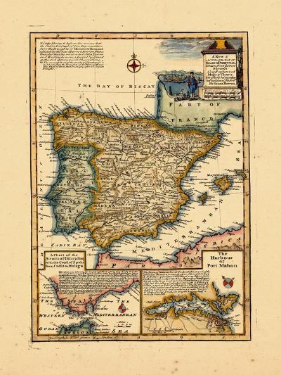 1748, Portugal, Spain--Giclee Print