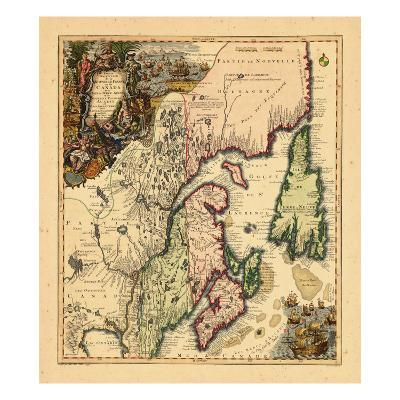 1750, Canada--Giclee Print