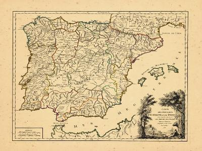 1757, Portugal, Spain--Giclee Print
