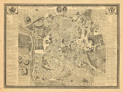 1761, Madrid, Spain--Giclee Print
