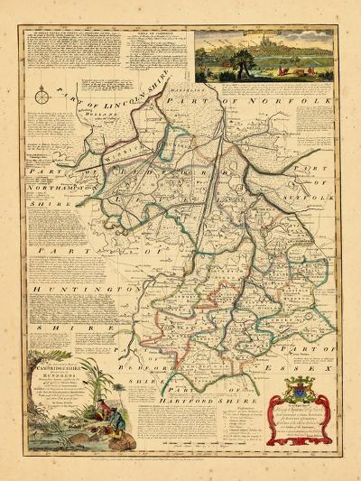 1762, Cambridgeshire, United Kingdom--Giclee Print