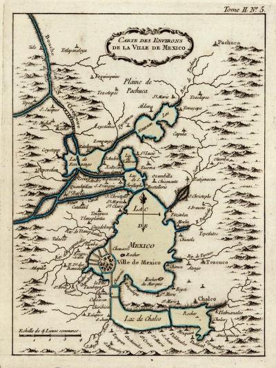 1764, Mexico, Mexico City--Giclee Print