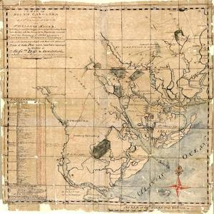 1771c, Beaufort County Savannah Sound to St, South Carolina, United States