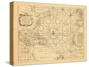 1773, Chart, West Indies, Atlantic Ocean