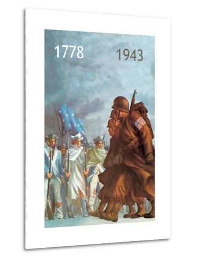 1778/1943--Metal Print