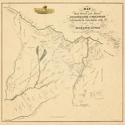 1790, Herkimer County, Land Patents of Southside of the Mohawk River Reproduced in, New York