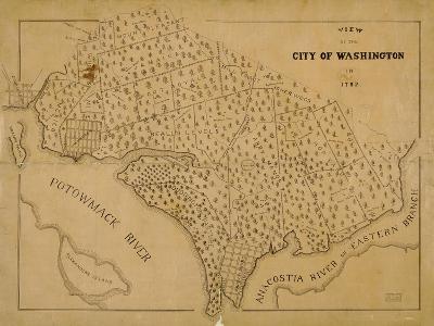 1792, Washington D.C., District of Columbia, United States--Giclee Print