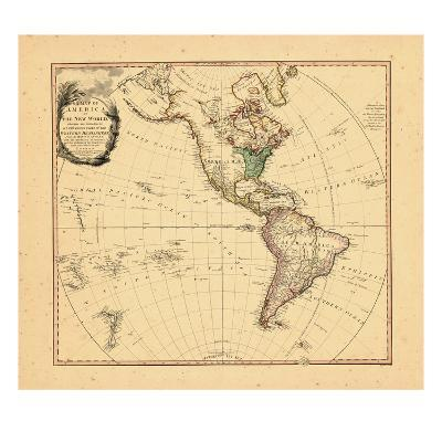 1797, North America, South America--Giclee Print