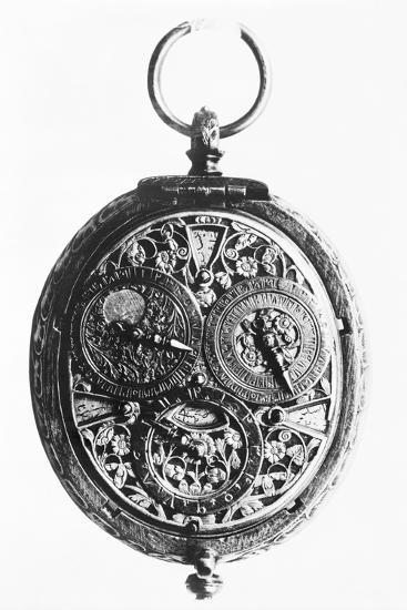 17th-Century German Calendar Watch--Photographic Print