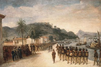 1811-14 Expedition Against Montevideo-Jean Baptiste Debret-Art Print