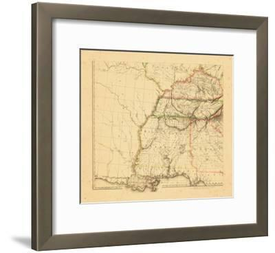 1812, Alabama, Georgia, Kentucky, Louisiana, Mississippi, Tennessee