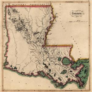 Beautiful Maps of Louisiana artwork for sale, Posters and Prints ...