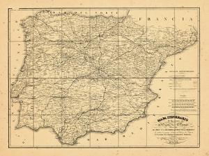 1829, Portugal, Spain