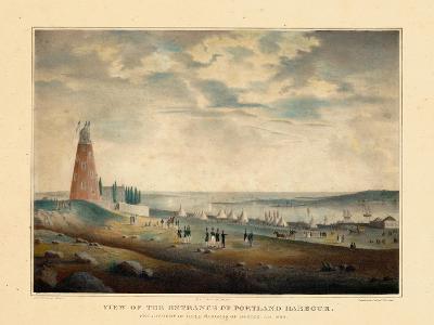 1830, Portland Harbour, Maine--Giclee Print