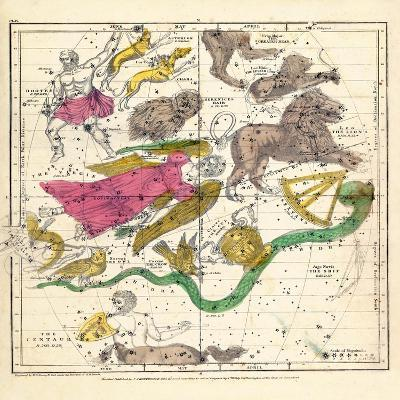 1835, Constellations April - June--Giclee Print