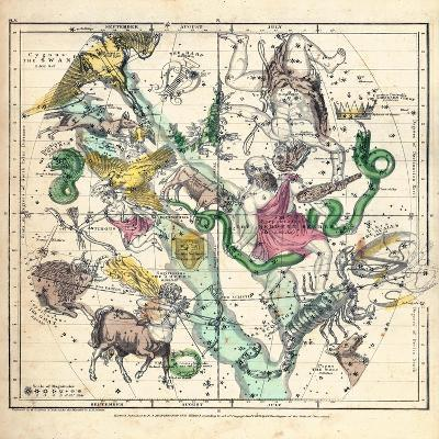 1835, Constellations July - September--Giclee Print