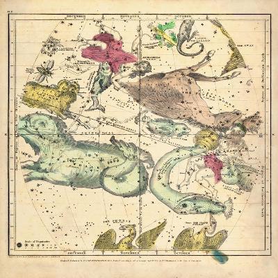 1835, Constellations October - December--Giclee Print
