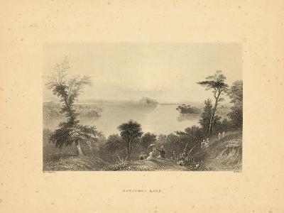 1840, Saratoga Lake 1840 View, New York, United States--Giclee Print