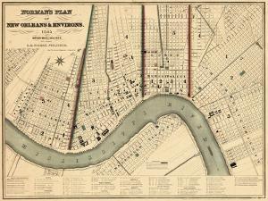 1845, New Orleans 1845, Louisiana, United States